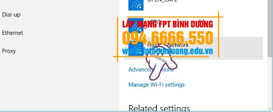 hướng dẫn đổi mật khẩu wifi FPT